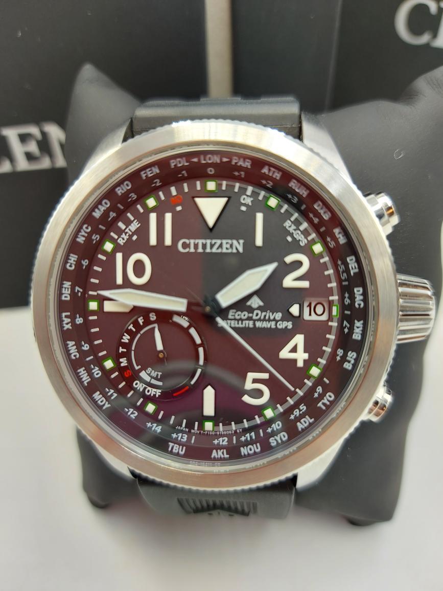 Mon July 12 – Citizen Satellite Wave GPS Watch – $599