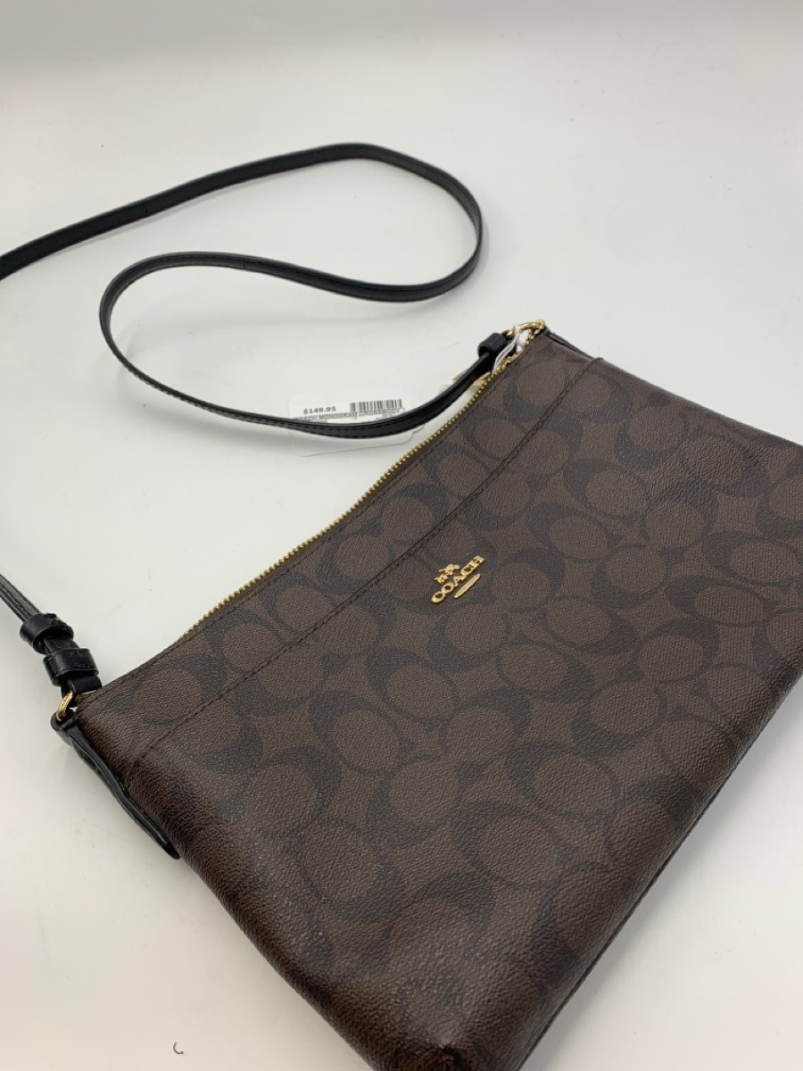 Thurs July 15 – Coach Monogram Crossbody Bag – $149