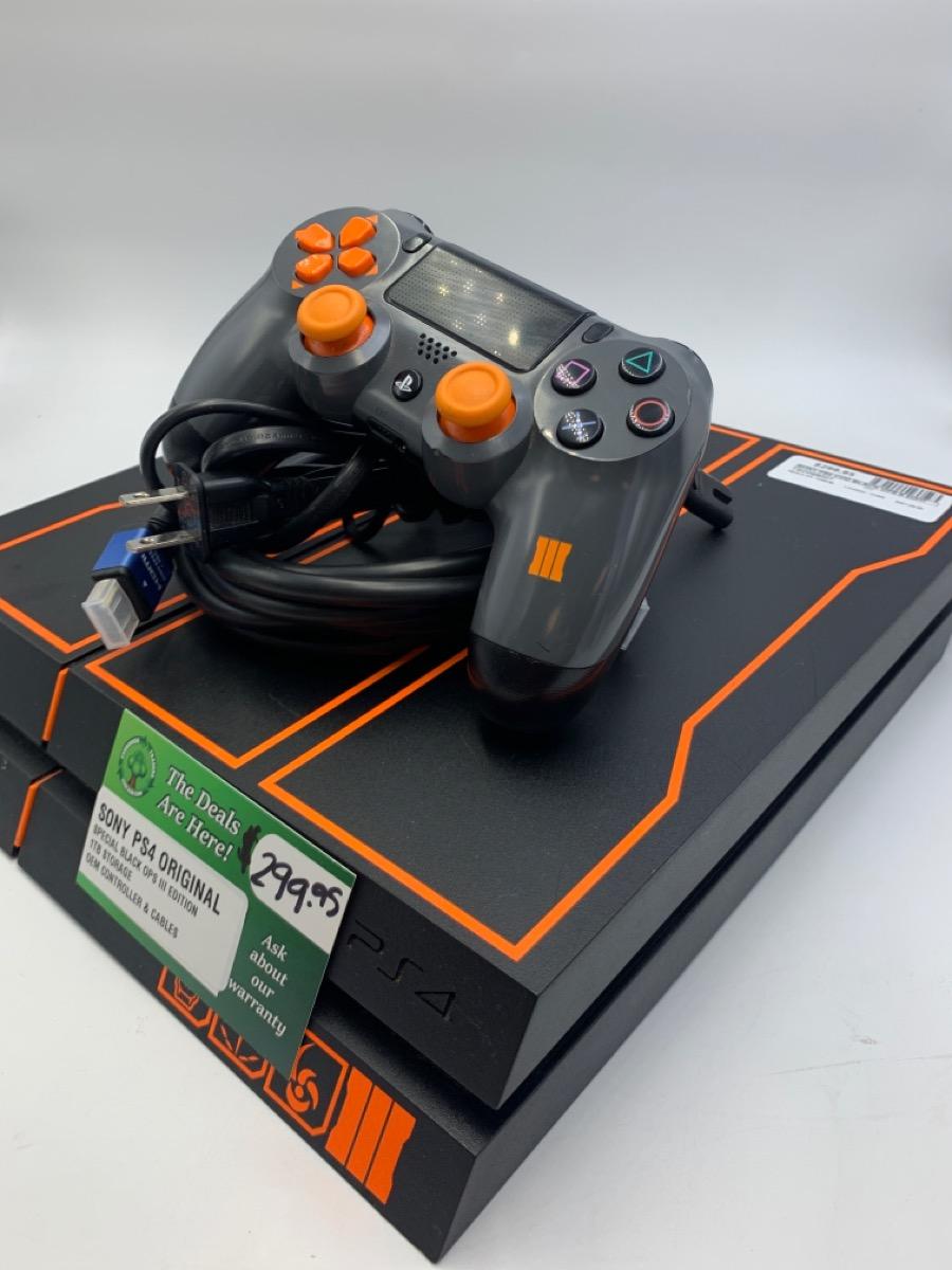 Fri July 2 – Sony Playstation 4 COD BlackOps Edition 1TB Console – $199