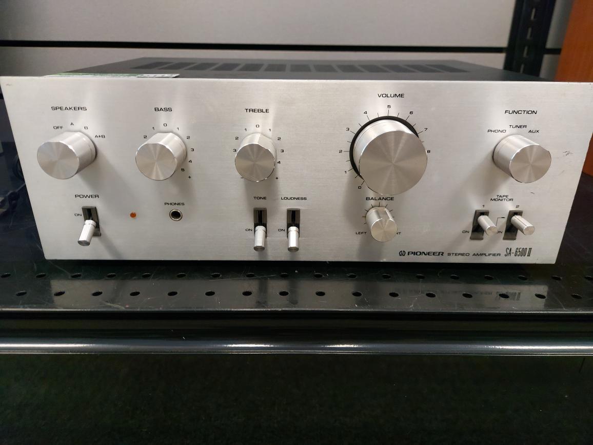 Fri July 23 – Vintage Pioneer SA-6500 ii Stereo Amplifier – $399