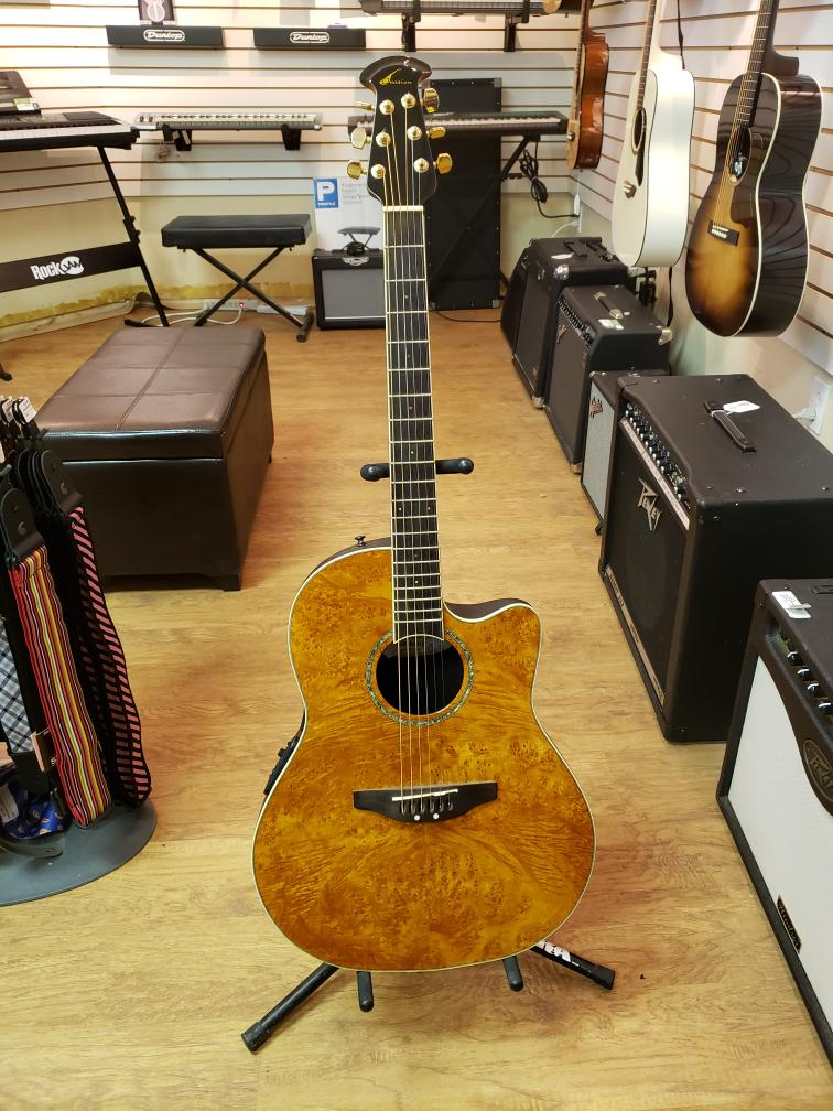 Wed July 7 – Ovation Celebrity CC24 Acoustic/Electric Guitar – $449