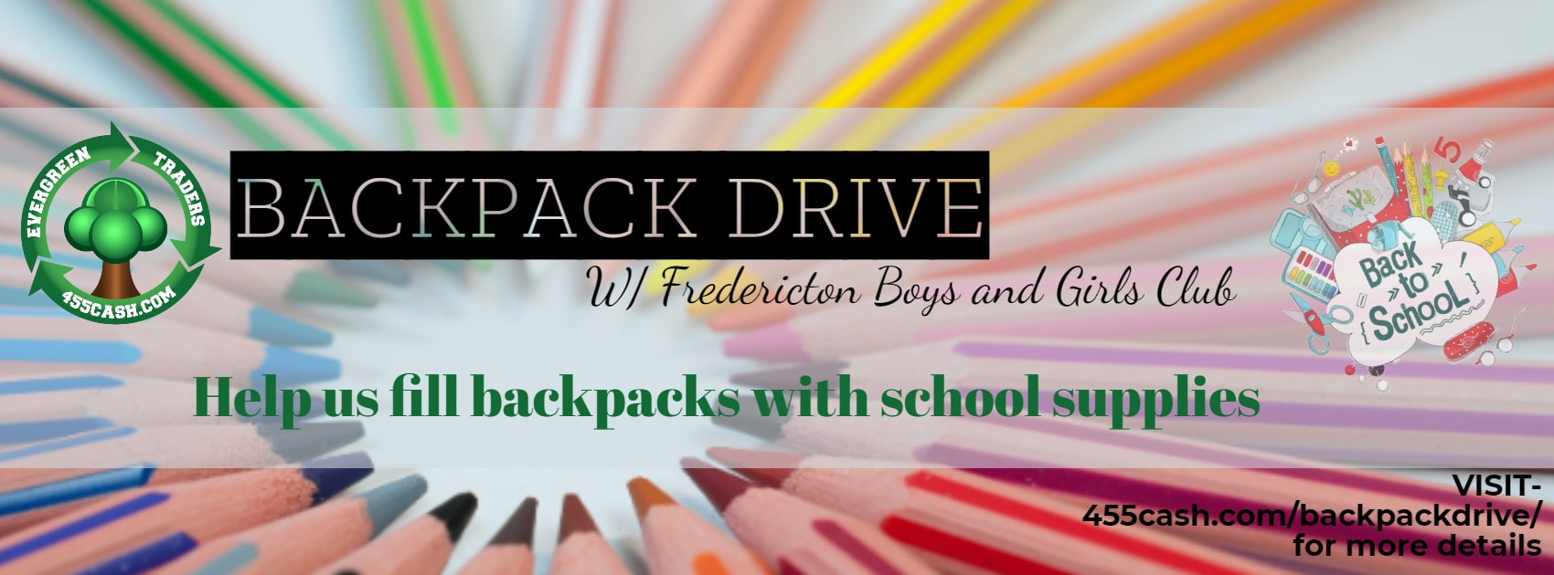 Back to School Backpack and School Supply Drive