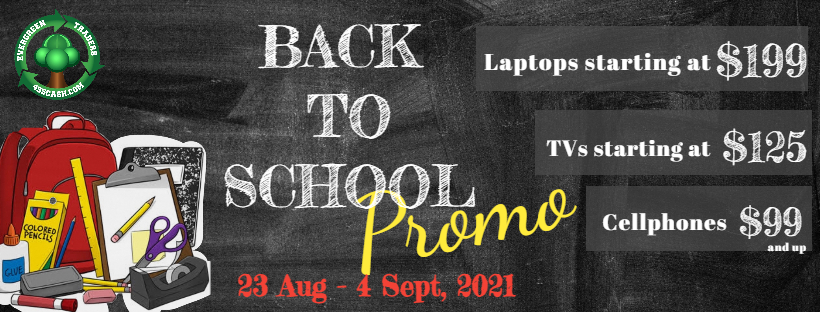 Our Back to School Promo is on NOW!