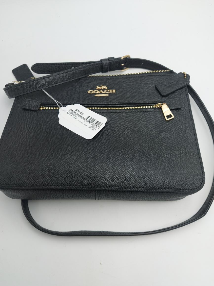 Wed Aug 18 – Coach Leather Crossbody Bag – $79