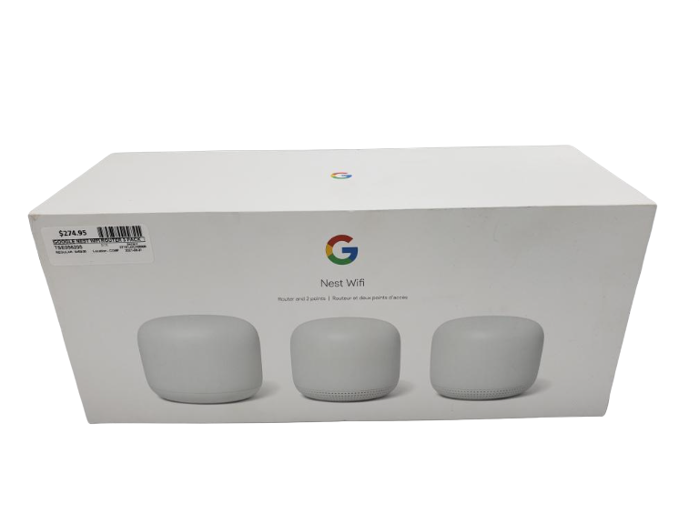 Wed Sept 1 – Google Nest WiFi Router 3 pack – $275
