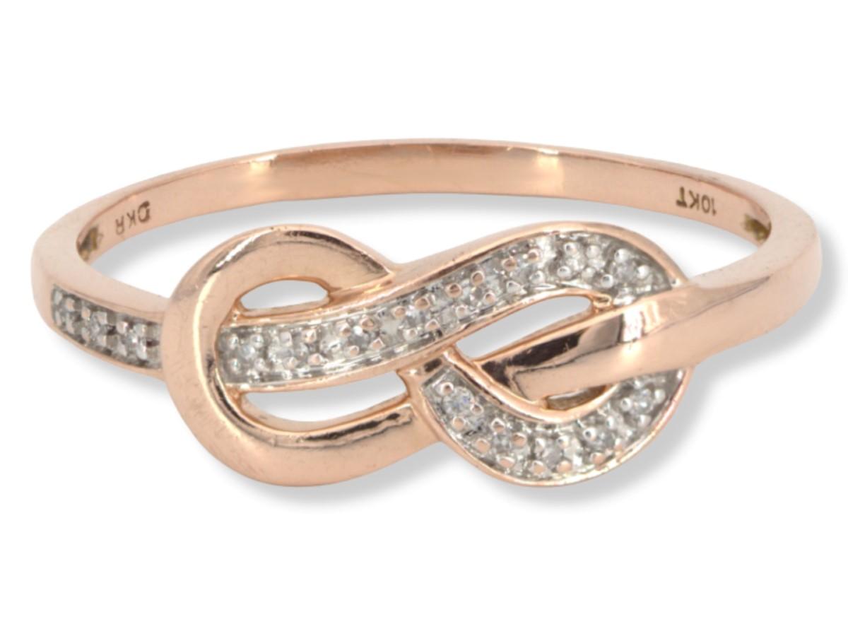 Wed Sept 22 – 10K Solid Rose Gold Fashion Ring – $140