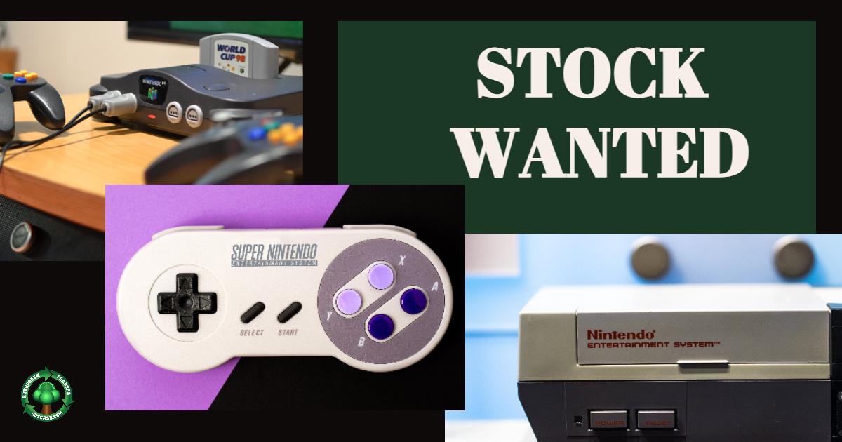Get Top Dollar for Nintendo64, NES, SNES