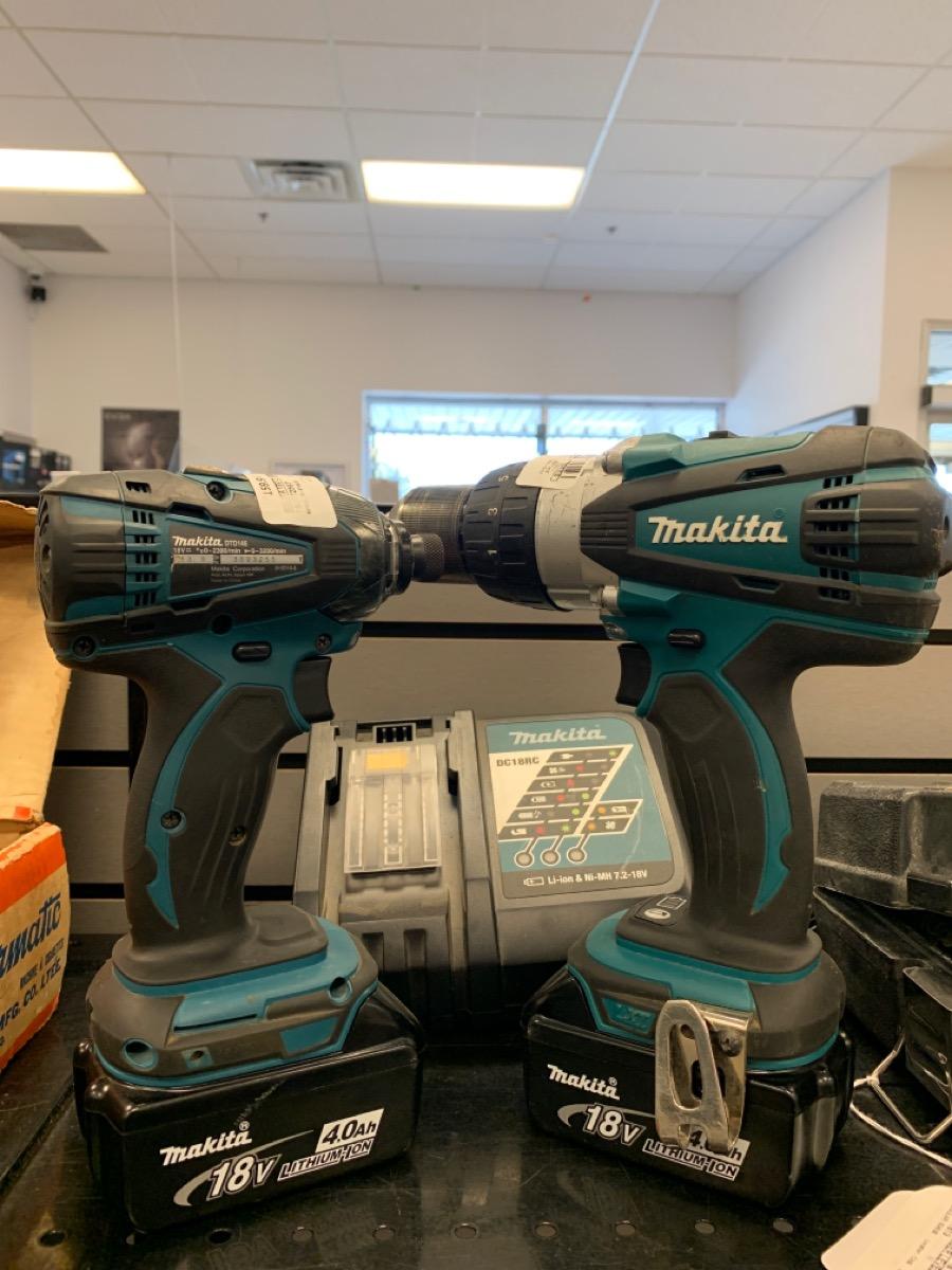 Thurs Oct 14 – Makita Cordless Drill & Impact Driver w/batteries – $159