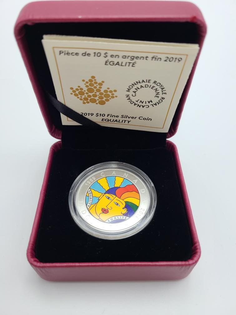 Thurs Oct 7 – Royal Canadian Mint Collectible Silver Coin – $49